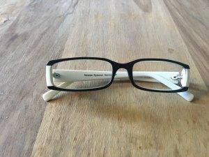 Glasses black-white
