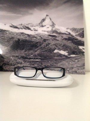 Brillengestell Kunststoff blau