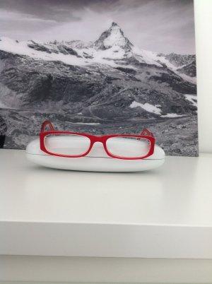 Brillengestell rot Kunststoff