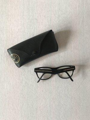 Brillengestell schwarz