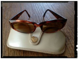 Ray Ban Glasses bronze-colored synthetic material