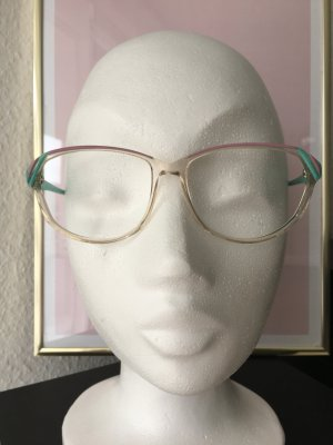 Brillengestell Vintage Retrobrille Transparentoptik
