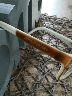 Emporio Armani Occhiale bianco sporco-beige Materiale sintetico