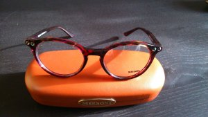 Missoni Glasses dark red