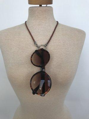 Brillenkette von La Loop Italian Braided Leather