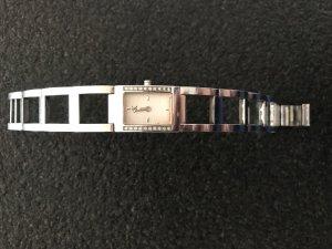 Calvin Klein Reloj con pulsera metálica gris claro acero inoxidable
