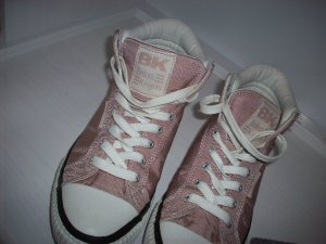 British Knights Zapatillas altas rosa-blanco