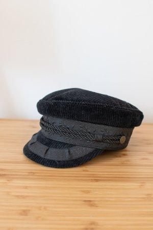 Brixton Beret black cotton