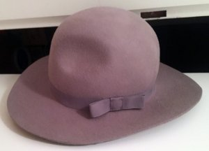 Hat multicolored wool