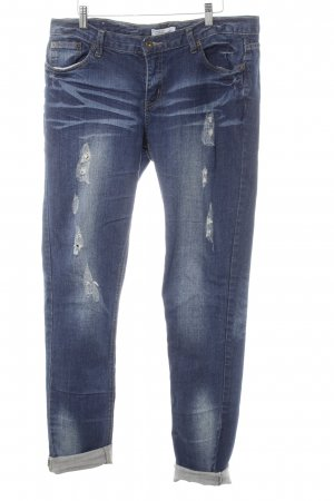 Broadway 3/4 Jeans dunkelblau Jeans-Optik