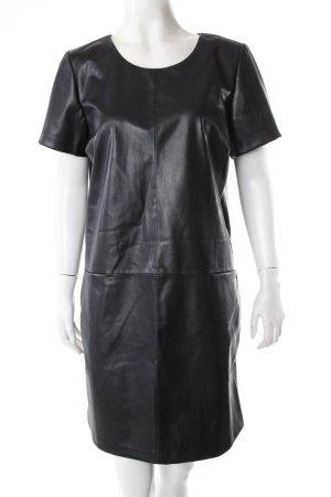 Broadway Kleid schwarz Lederimitat