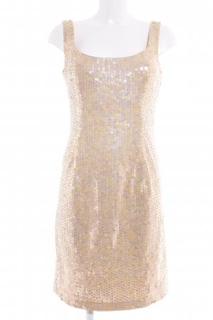 Broadway Pailettenkleid creme-nude Party-Look