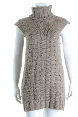 Broadway Knitted Top light brown minimalist style