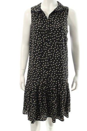 Broadway Trägerkleid schwarz-weiß Punktemuster Eleganz-Look