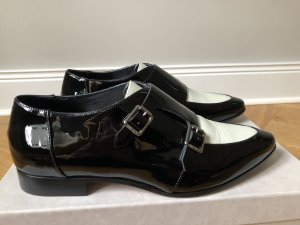 Brogue Flats Mardi black/white von Jimmy Choo