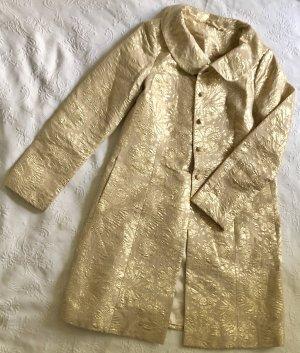 Apart Geklede jas goud Katoen