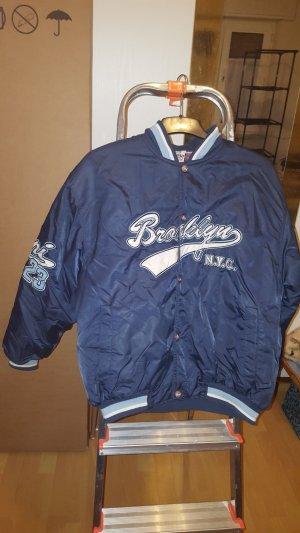 Karl Kani College Jacket azure-steel blue