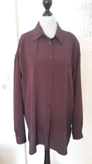 Colletto camicia rosso mora