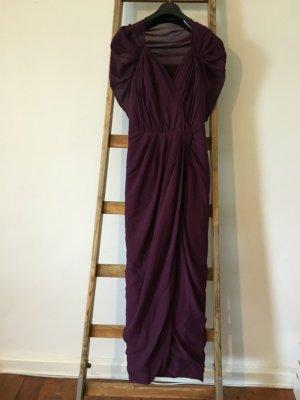 Brombeere Abendkleid Gr 36