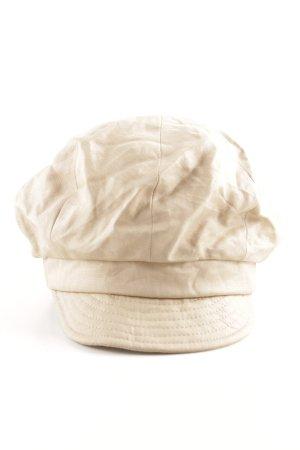 Bronté Visor Cap cream casual look