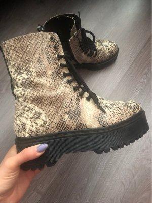 Bronx Combat Boots oatmeal