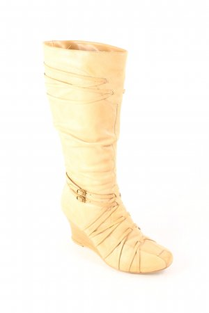 Bronx Heel Boots oatmeal