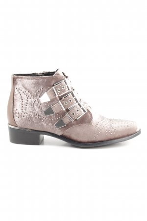Bronx Ankle Boots braun Street-Fashion-Look