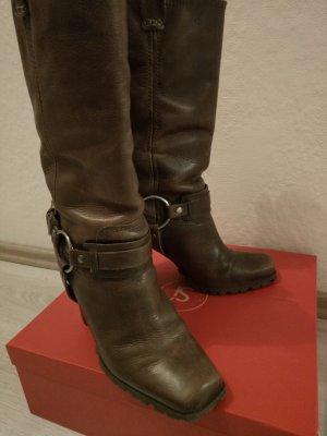 BRONX Biker Boots, braun, Gr. 40