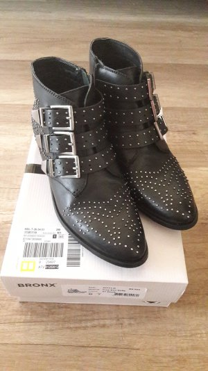 Bronx Boots Booties Ankles Ankleboots Stiefelette Nieten Studs Susanna Style 40