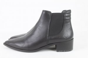 Bronx Ankle Boots black leather