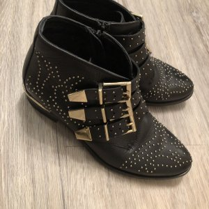 Bronx Boots Stiefeletten Nieten Gold