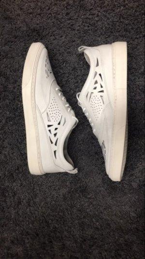 Bronx Cut Out Sneaker Halbschuh weiß Gr. 38