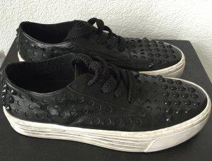 * Bronx * Echtleder Sneaker Low / Creepers Style Gr. 39 Echtleder w. NEU