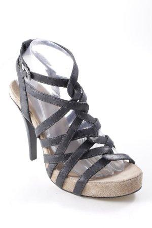 Bronx High Heel Sandaletten schwarz Casual-Look