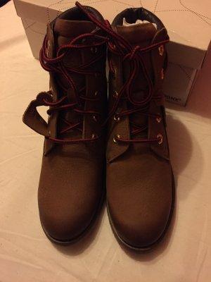 Bronx Leder Boots Neu!!