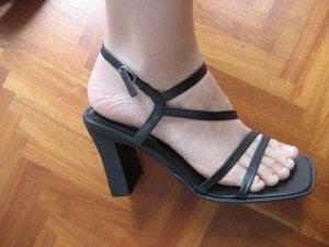 Bronx Riemchen -Sandallen in schwarz