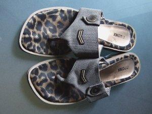 Bronx Toe-Post sandals multicolored mixture fibre