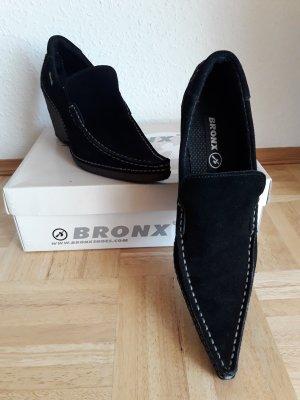 Bronx. Schuhe. schwarz.