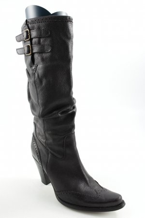 Bronx Slouch Stiefel schwarz Casual-Look