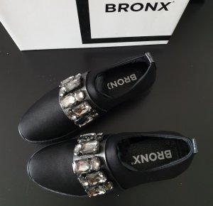 Bronx Sneaker mit Strasssteinen