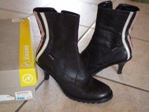 Bronx Stiefeletten 36 schwarz Leder wie neu Boots