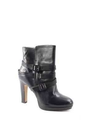 Bronx Stiefeletten schwarz Street-Fashion-Look