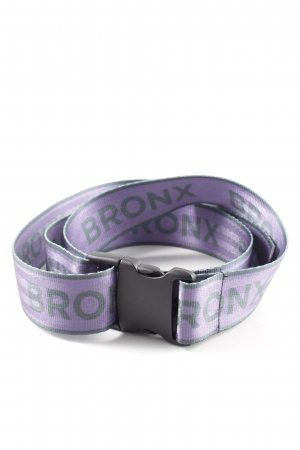 Bronx Cinturón pélvico violeta oscuro-gris antracita look casual