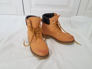 Bronx Timberland lookalike schwarz beige braun orange sneaker 38 stiefel stiefelette chelsea boots