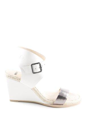 Bronx Wedges Sandaletten mehrfarbig Boho-Look