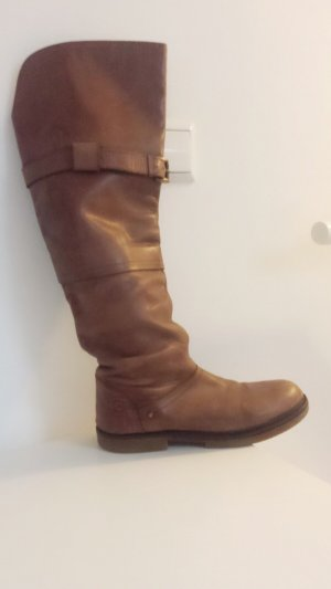 Bronx Winterstiefel Echtleder 38 Reiterlook