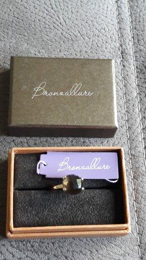 Bronzallure Ring, Rauchquarz