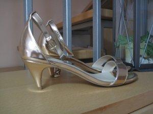 Bronze farbene Sandaletten von Asos Gr. 5