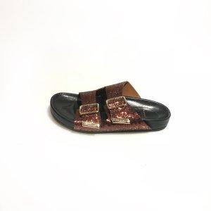 Bronze Givenchy Flip Flop