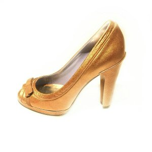 Marc Jacobs High-Heeled Sandals bronze-colored